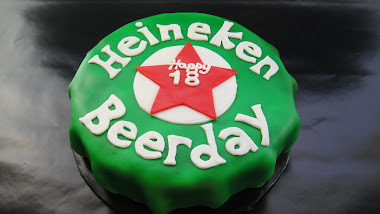 18th Beerday Cake