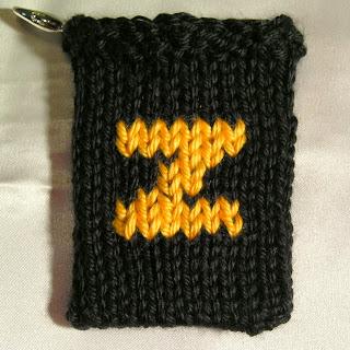 gift card holder, knitted item, Z