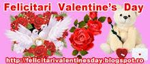 Felicitari  Valentine,s Day