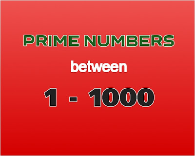 C++ program to find prime numbers between 1 to 1000