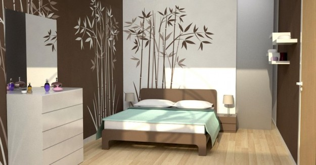 Decorar paredes de un dormitorio moderno dormitorios con - Decorazioni per pareti camera da letto ...