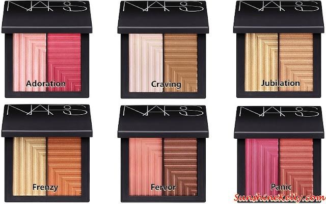NARS Dual-Intensity Blush, NARS, Narsisist, Nars cosmetics, Color swatch, beauty review