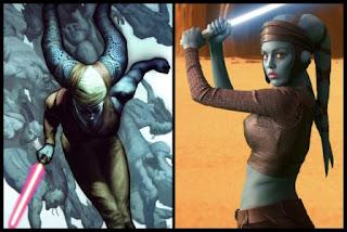 Aayla Secura, del cómic Darkness a las películas de Star Wars