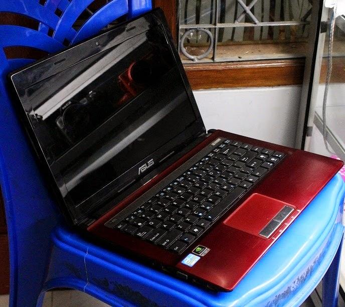 harga laptop gaming bekas asus k43sj-vx401d