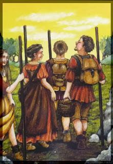 four of wands Anna K Tarot