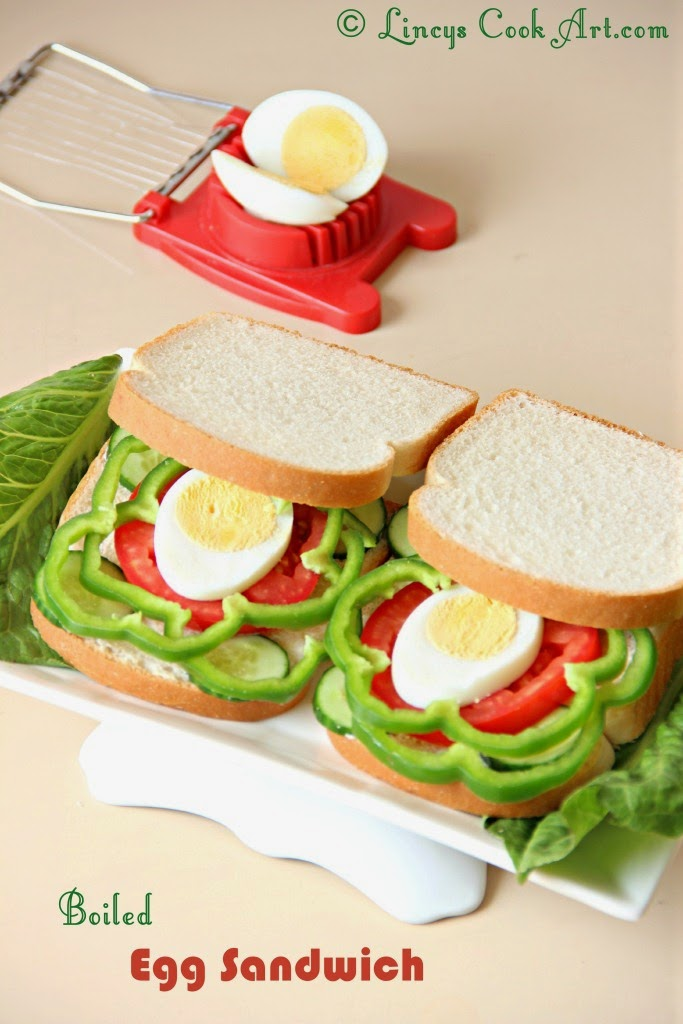 Boiled Egg Sandwich