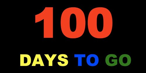 Countdown for 100 days!