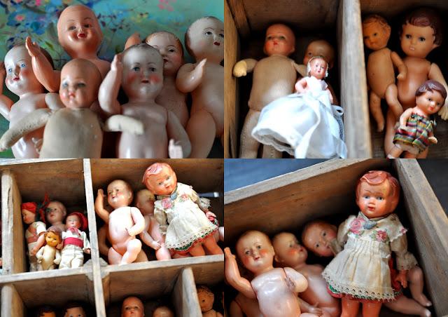 poupées anciennes,joets de cillections