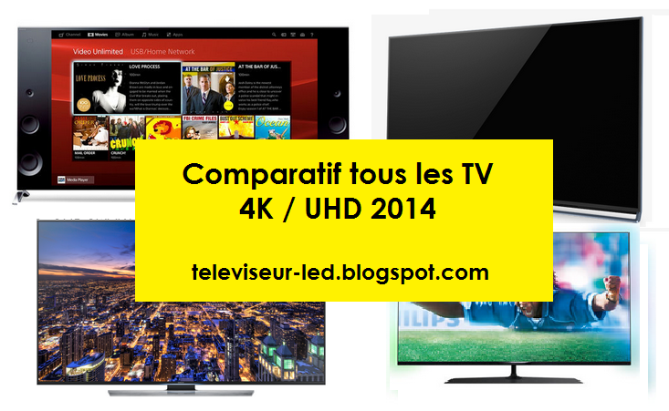 comparatif tous les tv 4k uhd 2015 hu8500 x9005b ub950v ax800e pus7809 televiseur led. Black Bedroom Furniture Sets. Home Design Ideas