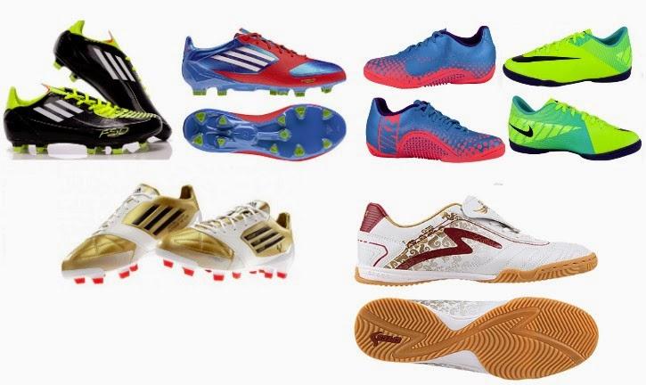 Daftar Harga Sepatu Futsal Adiddas, Puma, Lotto, Nike Terbaru Juni - Juli 2014