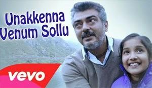 Unakkenna Venum Sollu Video Song Yennai Arindhaal | Ajith Kumar, Harris Jayaraj