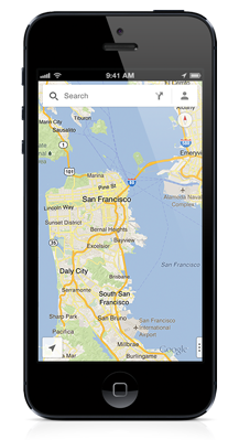Google Maps App for the iPhone
