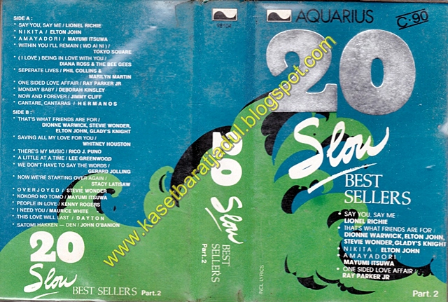 20 Slow Best Sellers Part. 2 (Aquarius)