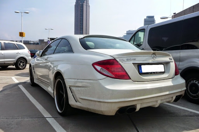 mercedes cl w216 vath