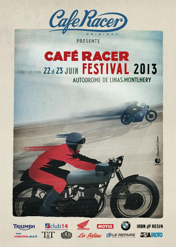 Cafe racer festival rocketgarage cafe racer magazine for Garage honda montlhery