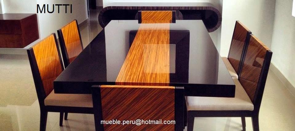 Comedores muebles per comedores amplios modernos y for Muebles y comedores modernos
