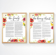 FAMILY PROCLAMATION and LIVING CHRIST PRINTABLE PACK