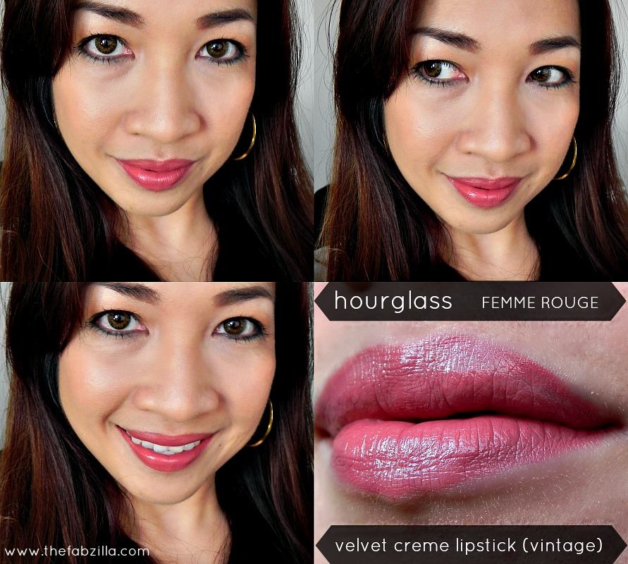 review hourglass femme rouge velvet creme lipstick vintage, jennifer lopez makeup, nude lips, how to wear neutral lips, photography tips