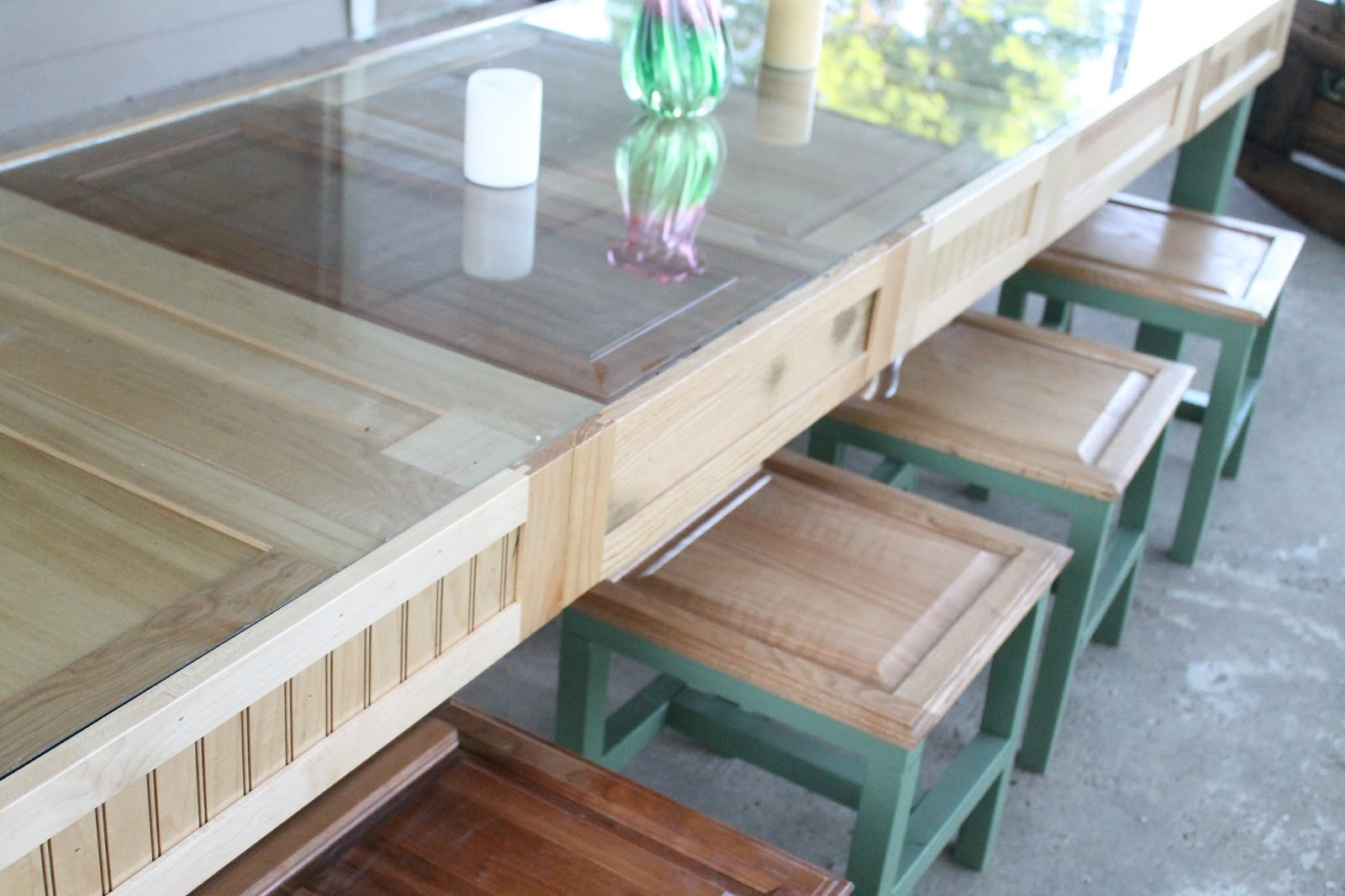 DIY Table from the Re-Use Store - Do Small Things with Love