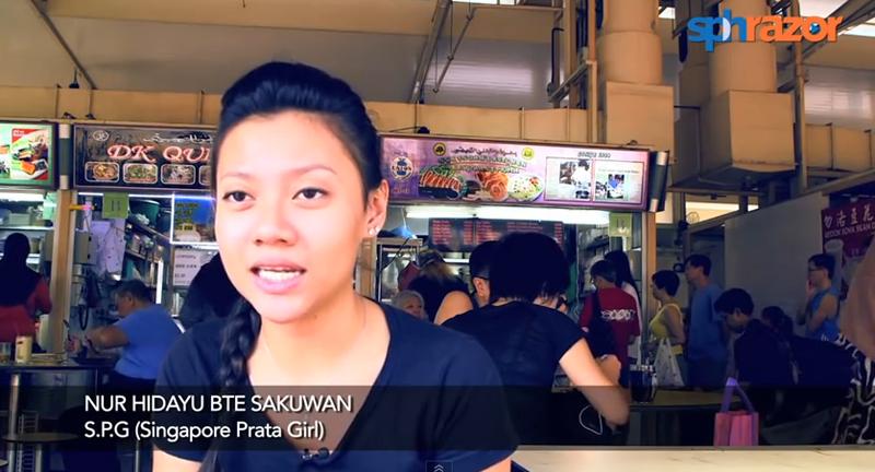 Video Viral Gadis Roti Canai Singapura