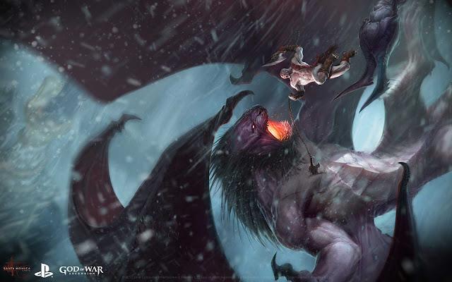 Kratos vs Manticore - God of War : Ascension