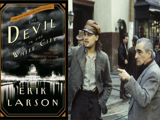 Martin Scorsese y Leonardo DiCaprio juntos de nuevo en 'The Devil in the White City'