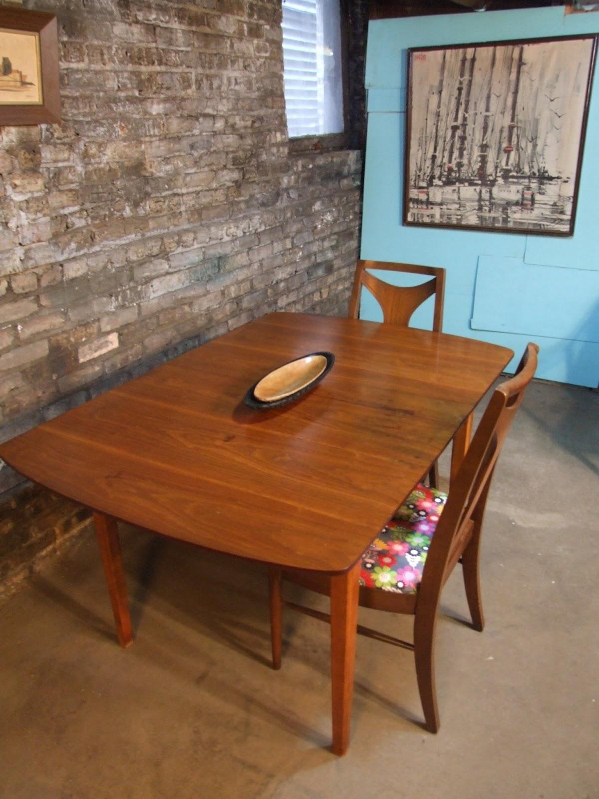 Mid Century Chicago Danish Modern Kitchen Table