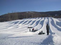 Winter Fun in New Jersey - Snow tubing