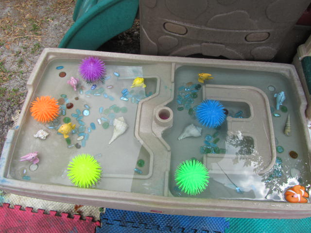 Sea urchins and ping pong water toss epic childhood for Plastic fish bowls dollar tree