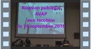 Réunion AVAP