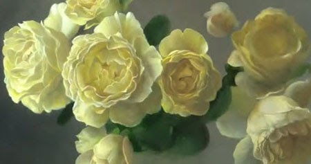 How to paint flowers - Oil Painting Rose - Video Lessons ...
