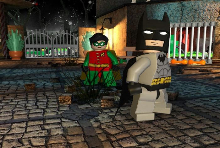 lego robin games online free