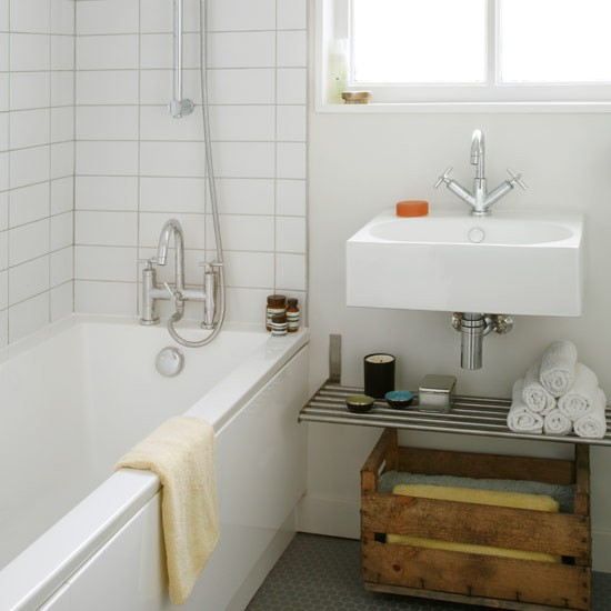 Ideas Sencillas Para Decorar El Baño:Vintage Style Bathroom Ideas