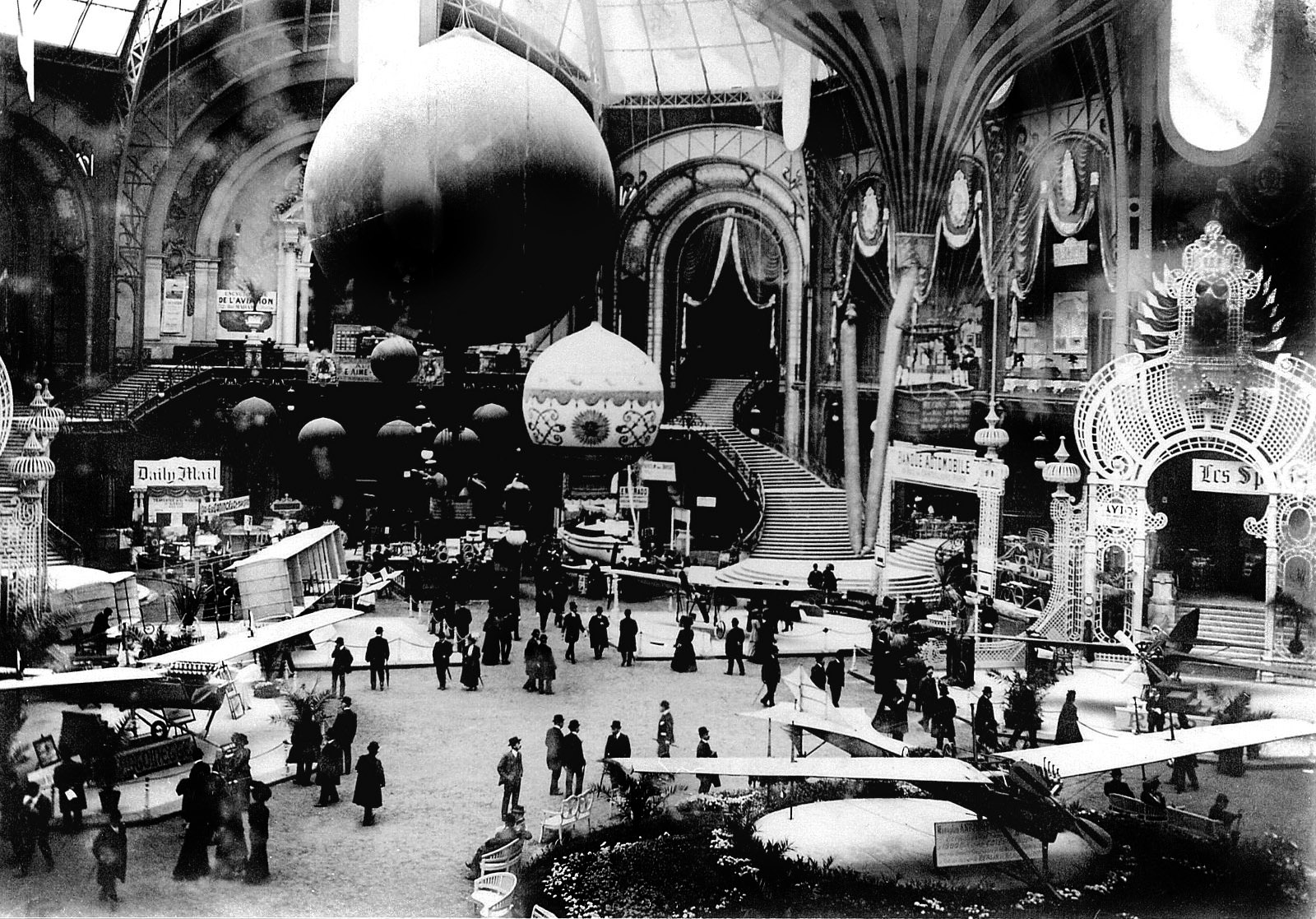 Just a car guy 1909 grand palais air show in paris - Exposition paris grand palais ...