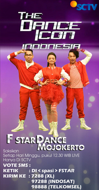 F Star dance indonesia