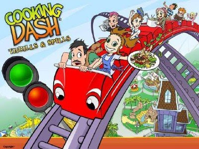Cooking Dash 3 Thrills and Spills