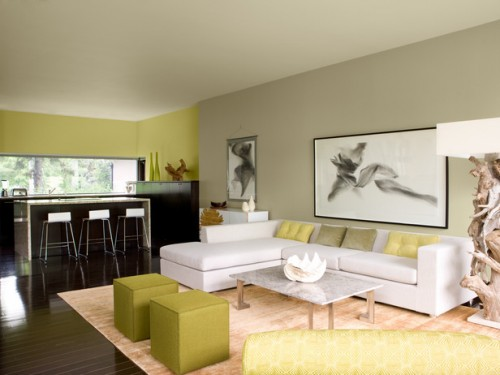 Living room painting ideas for great home living room design for Colores para casa interior
