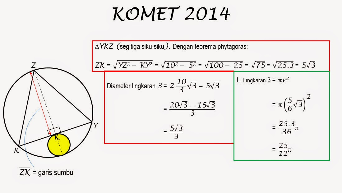 Final Utama Komet 2014 Solusi Nomor Soal 3 Smp Negeri 1 Situbondo