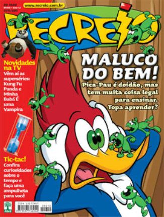 Revista no Site