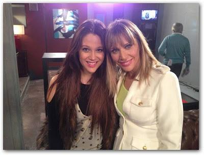 Bárbara Velez y Adriana Salonia en Somos Familia