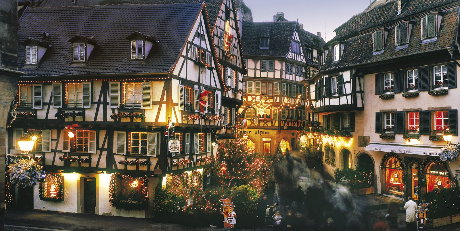 Colmar France  city pictures gallery : enchantment abounds along Rue des Marchands in Colmar, France ...