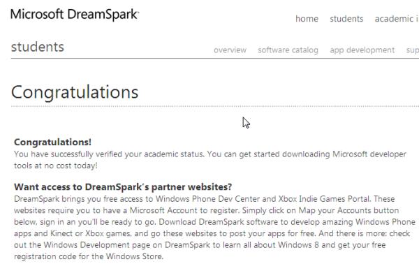 Dreamspark coupons