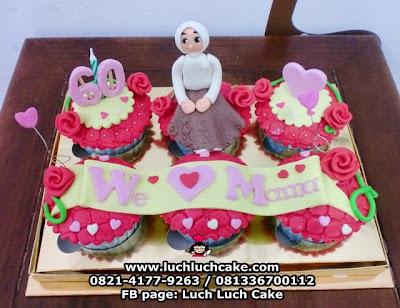 Cupcake Cantik Untuk Mama Daerah Surabaya - Sidoarjo