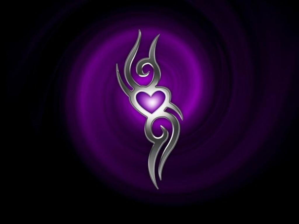 August 2012 Purple Background Wallpapers