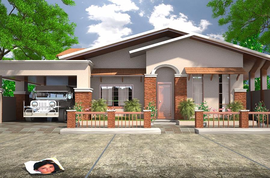 Modelos de casas dise os de casas y fachadas modelos de for Casa de una planta sencilla