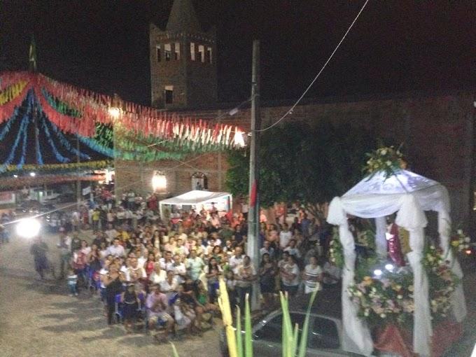 FESTA DO SAGRADO CORAÇÃO DE JESUS EM LARANJEIRAS DO ABDIAS