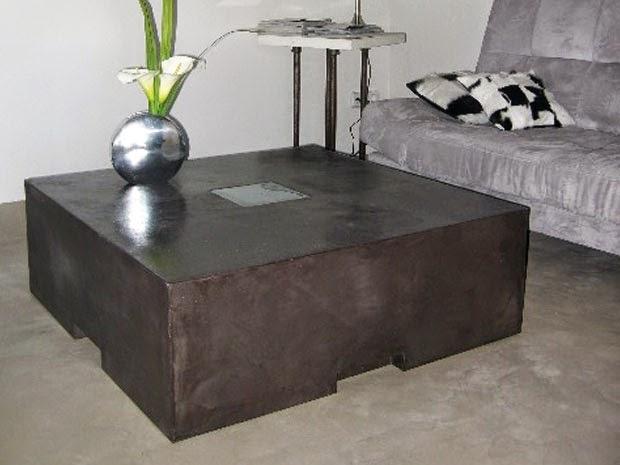 mesa centro microcemento compacta