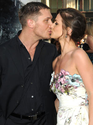 Tom Hardy Kissing
