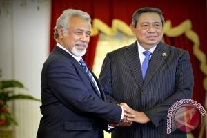 SBY-Xanana sepakat segera selesaikan batas negara