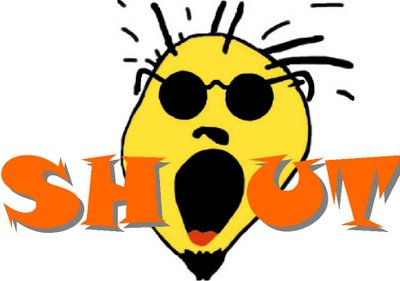 shout outs would like to give a shout out ...